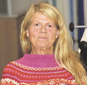 Jorun Erdal er ei frisk dame med mange meiningar.