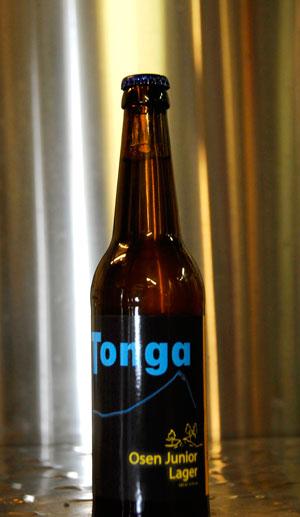 Tonga gardsøl sitt nye produkt er no klart for daglegvaremarknaden.